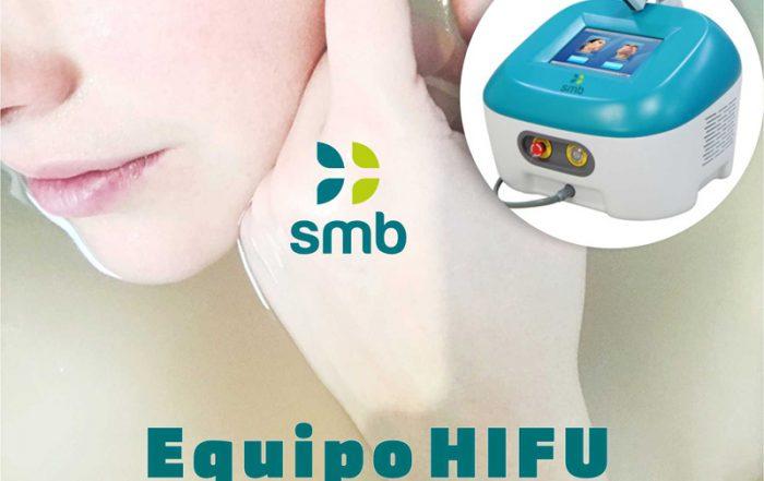 equipo hifu estimula la renovación de colágeno smb